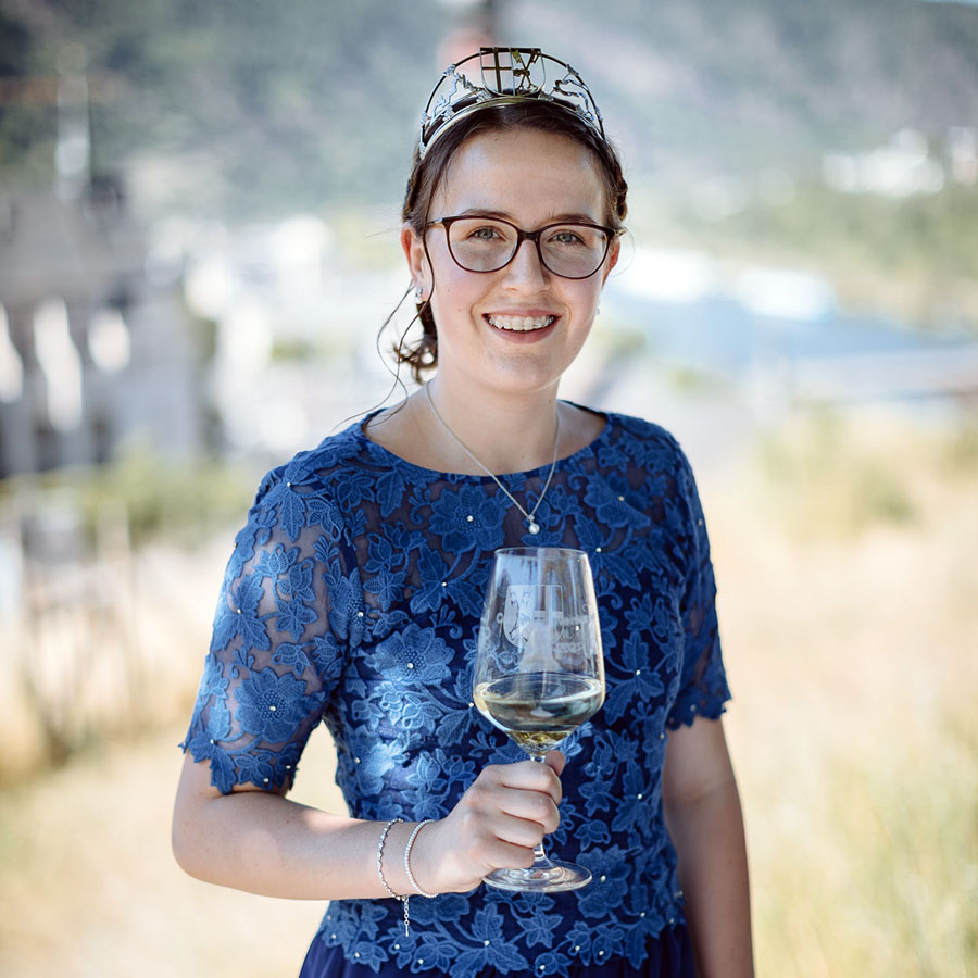 Weinkönigin Lisa II.